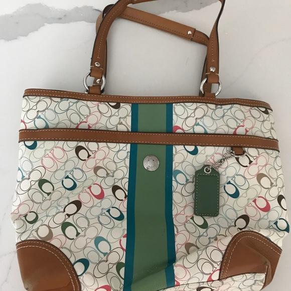 874531d7140 Coach Bags   Colorful Versatile Purse With Pockets   Poshmark